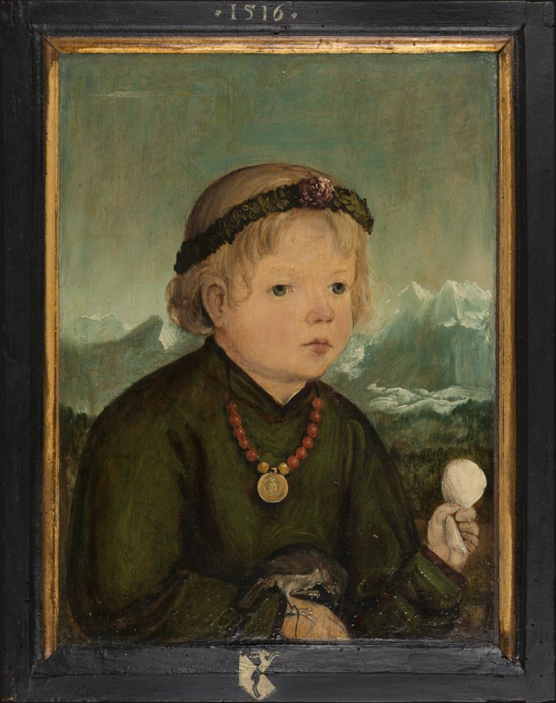 Portrait of Ruprecht Thenn (1512-1545), Master of the Portraits of the Thenn Children, Wolf Huber  Werkstatt ?