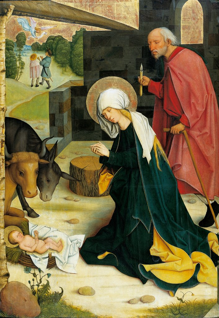 The Nativity, Master of the Pfullendorf Altar, Bartholomäus Zeitblom  workshop ?