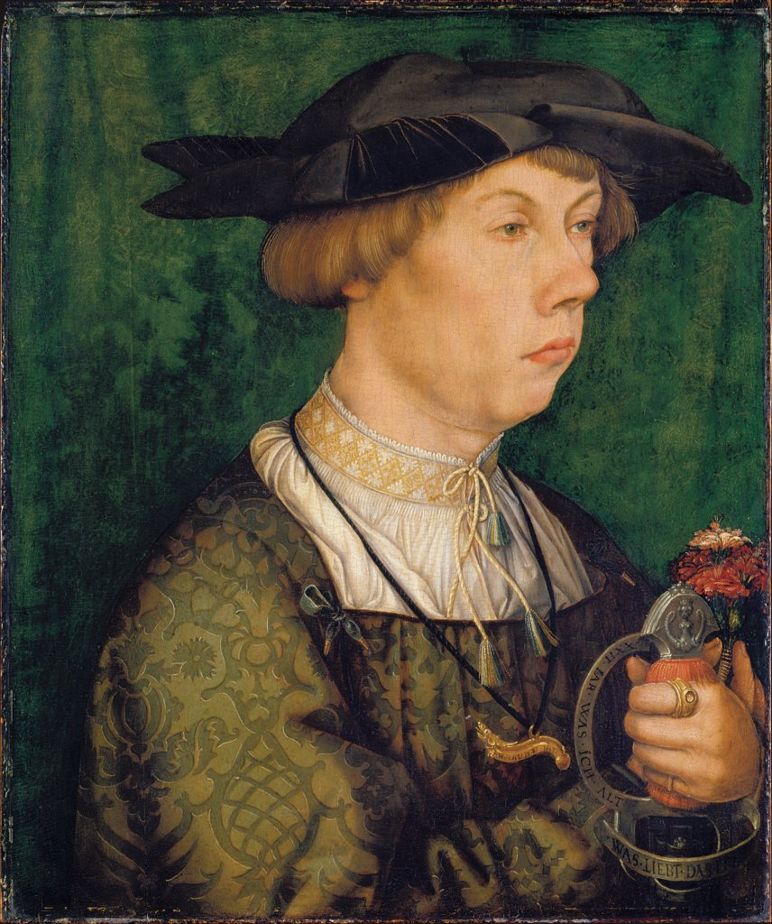 Portrait of a Member of the Weiss Family of Augsburg, Hans Holbein the Elder