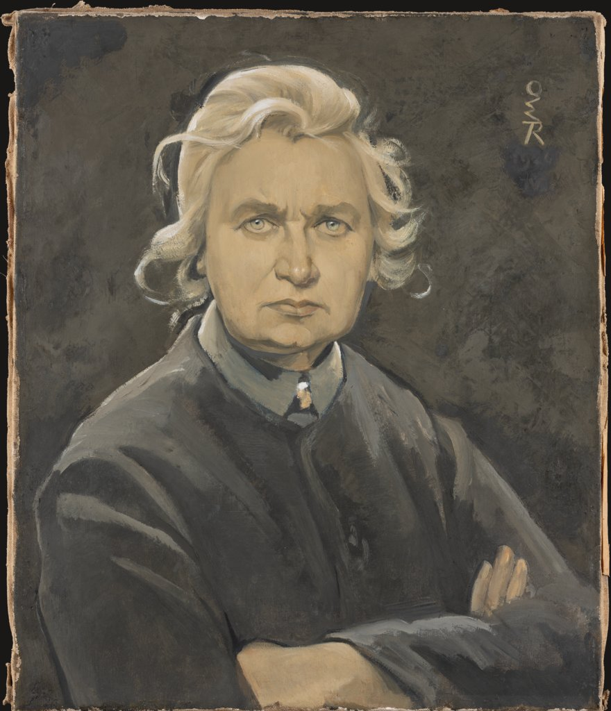 Self-Portrait with Folded Arms, Ottilie W. Roederstein