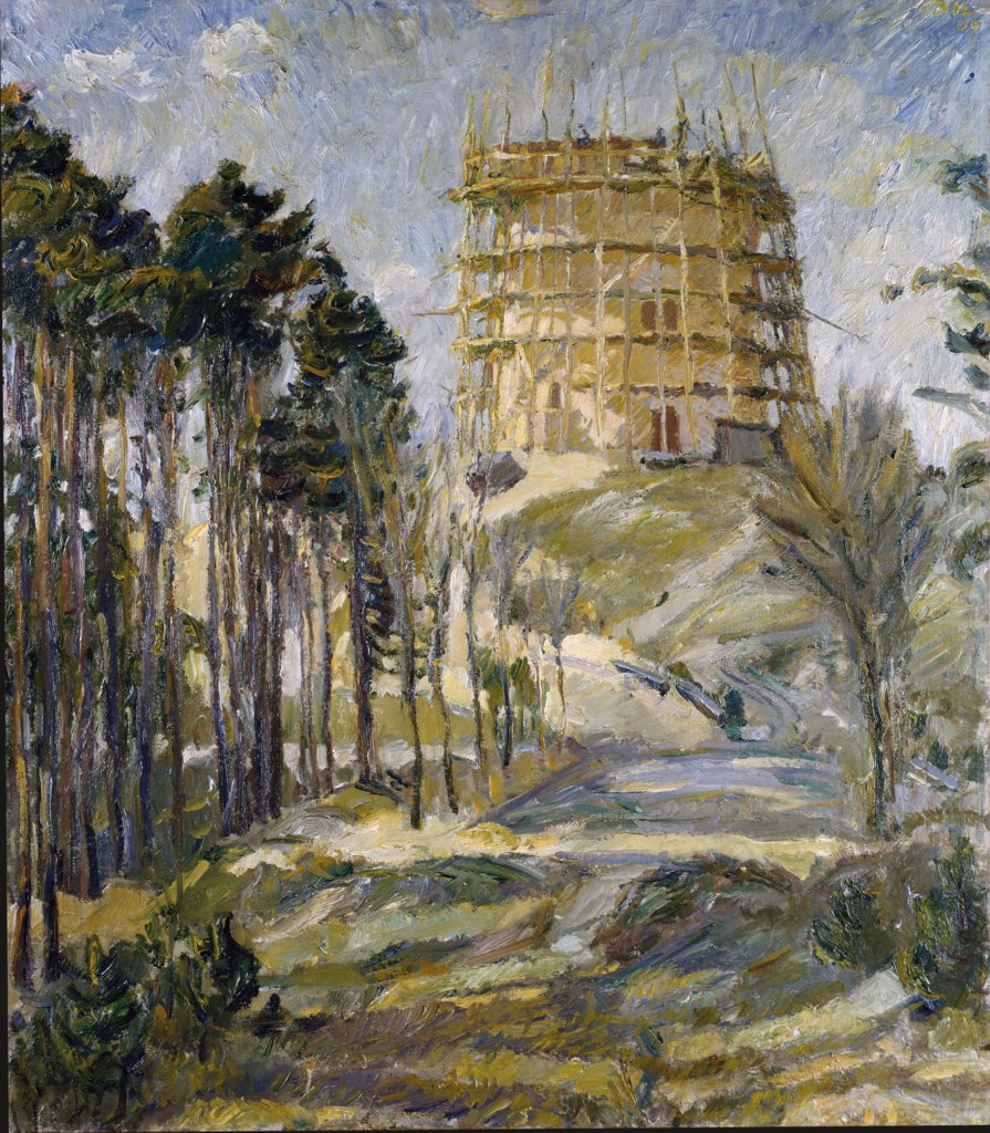 Water Tower in Hermsdorf, Max Beckmann