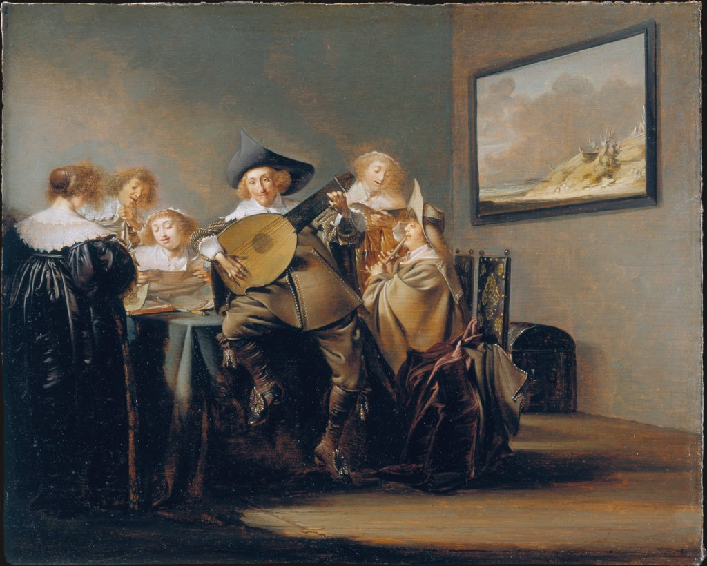 Company of Music-Makers, Pieter Jacobsz. Codde