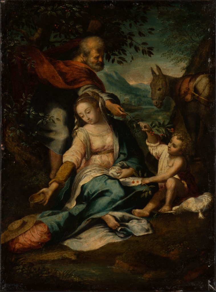 Rest on the Flight into Egypt, copy after Federico Barocci