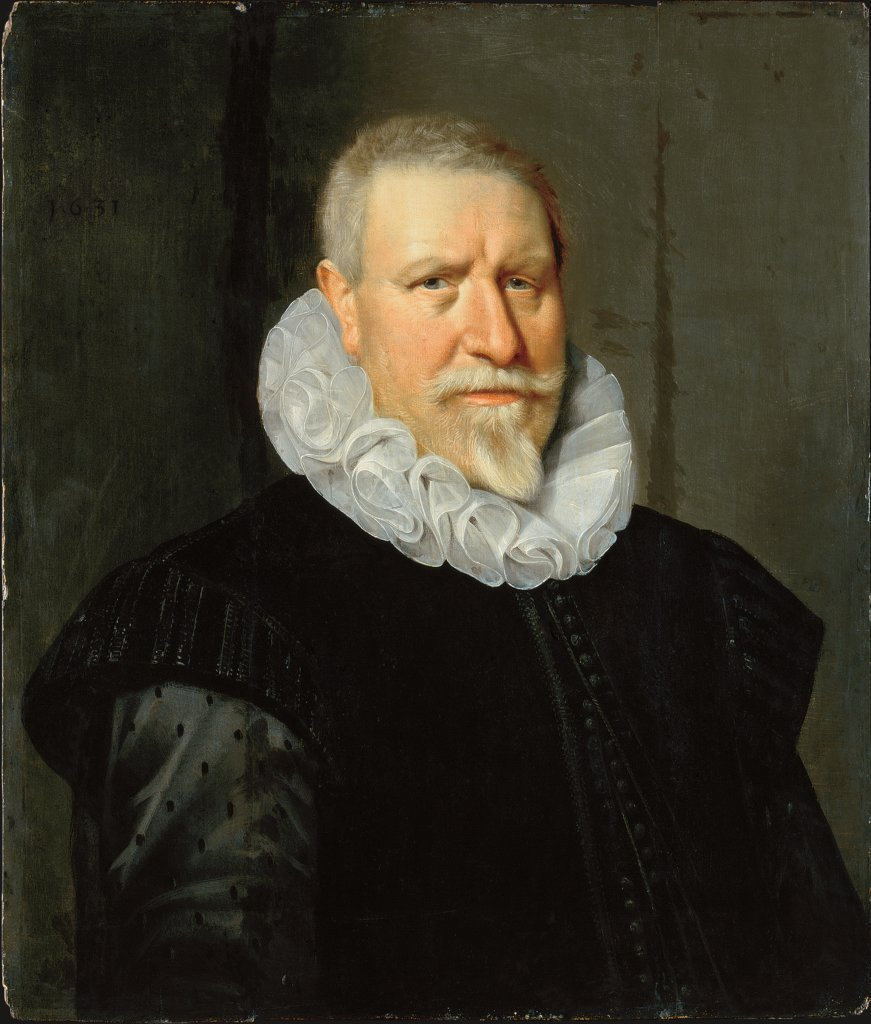 Portrait of an elderly Man, Thomas de Keyser