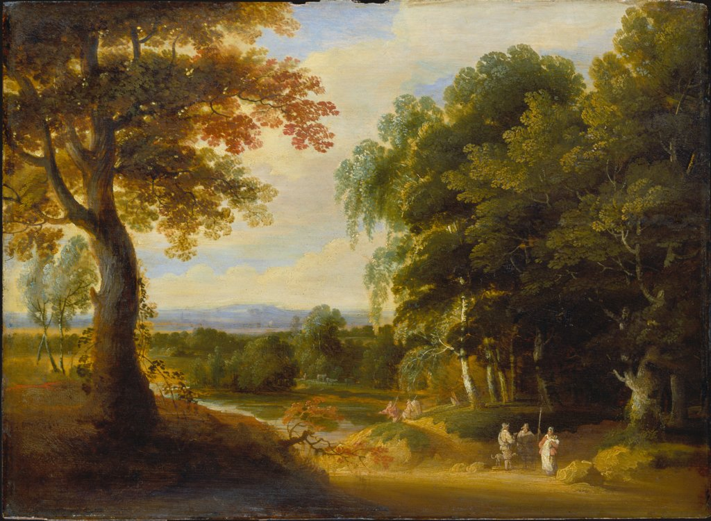 Landscape with Entrance to a Forrest, Jacques d' Arthois