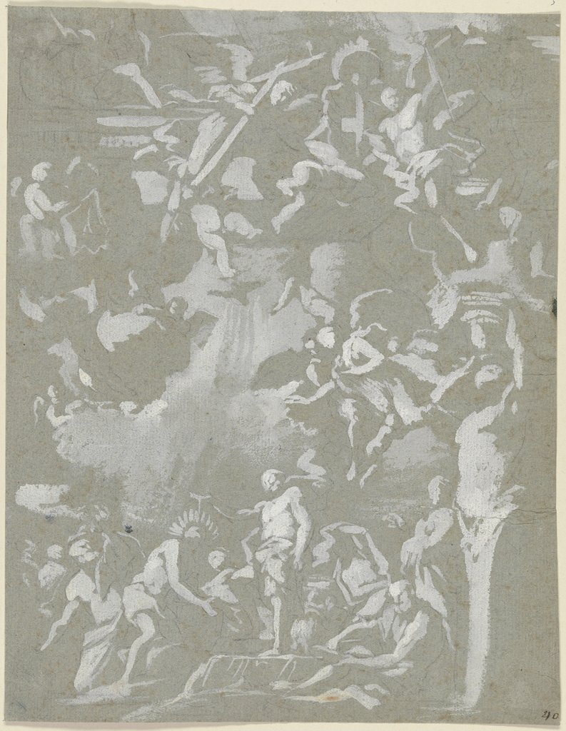 Baptism of Christ, Italian, 18th century