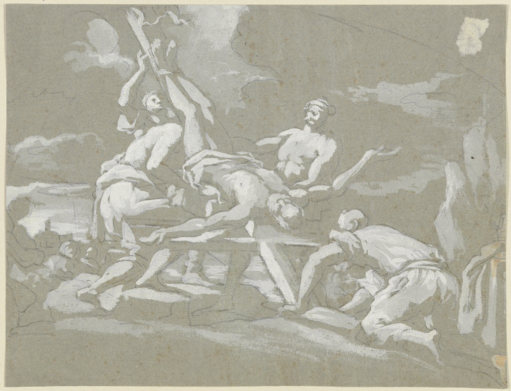 Crucifixion of Saint Peter, Italian, 18th century