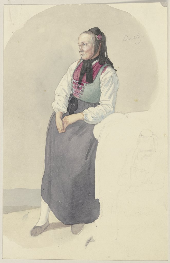 Hessian farmwoman, Jakob Becker