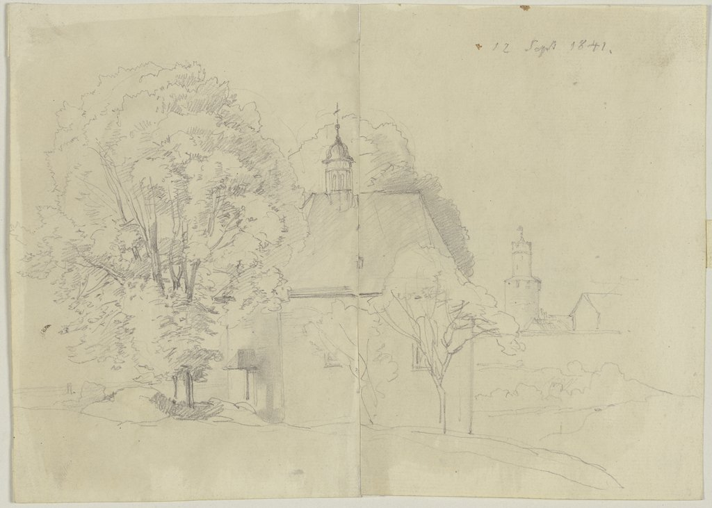 Chapel with ridge turret, Jakob Becker