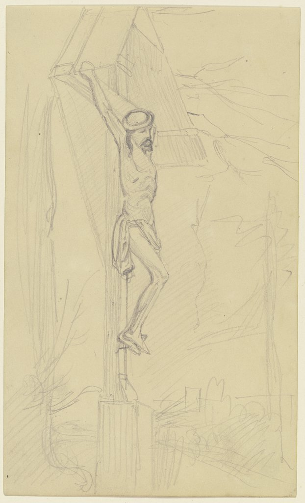 Crucifix, Jakob Becker
