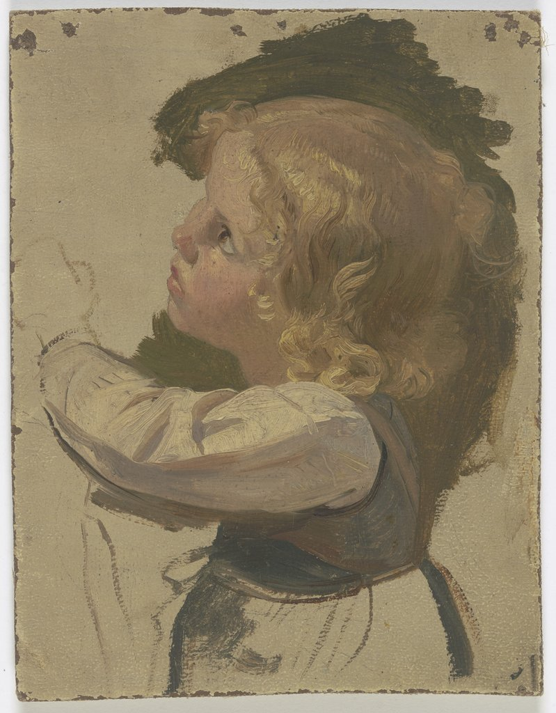 Small blond child, Jakob Becker