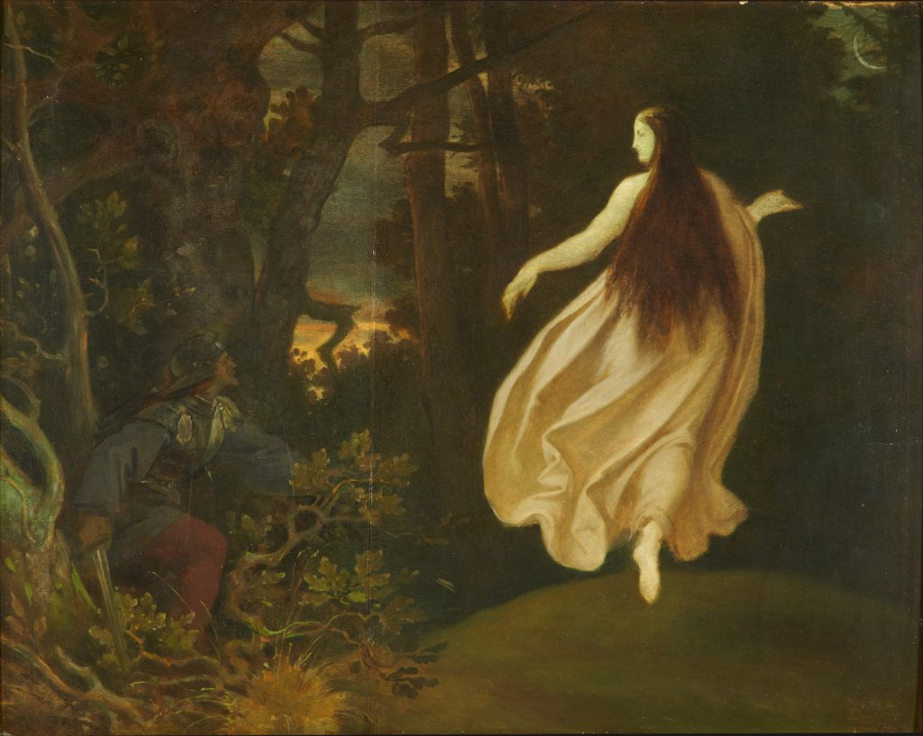 Apparition in the Forest (from Sleeping Beauty), Moritz von Schwind