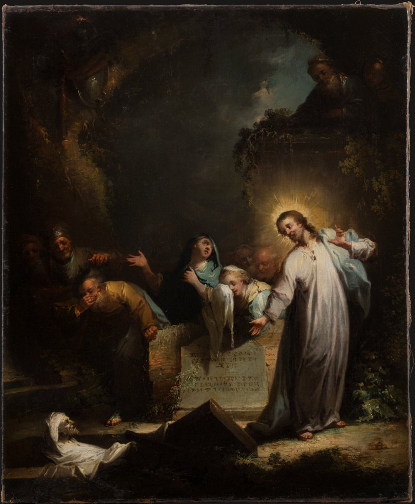 The Raising of Lazarus, Johann Georg Trautmann