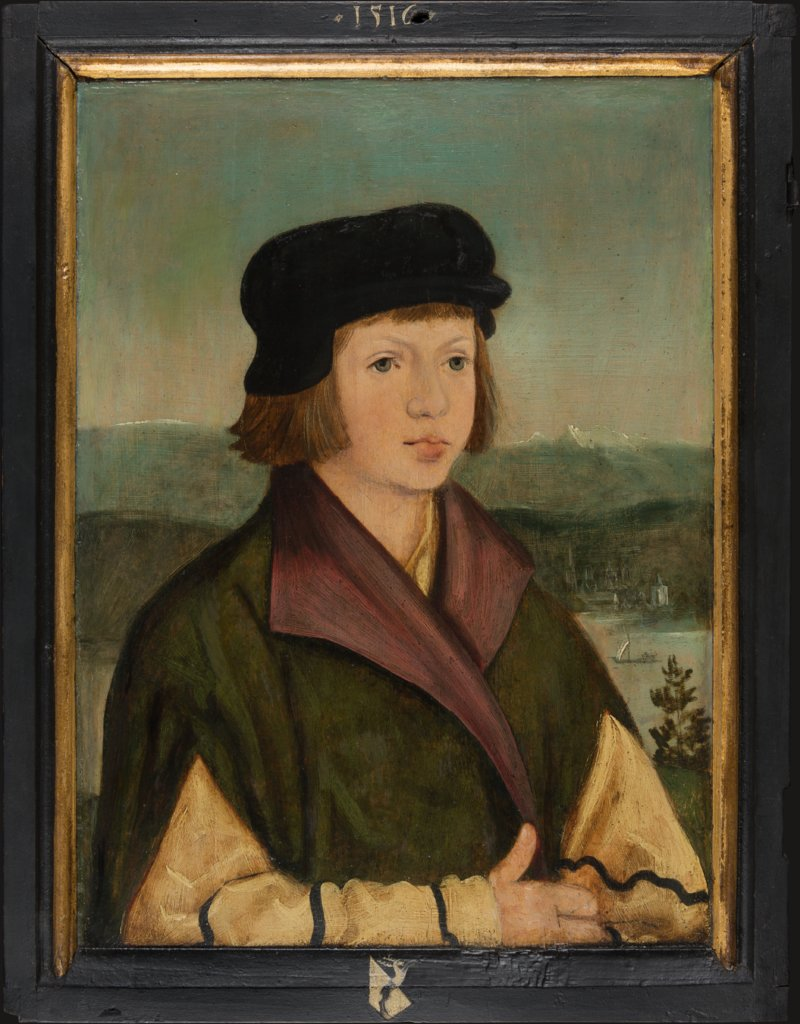 Portrait of Wolf (?) Thenn (1507-1538), Master of the Portraits of the Thenn Children, Wolf Huber  Werkstatt ?