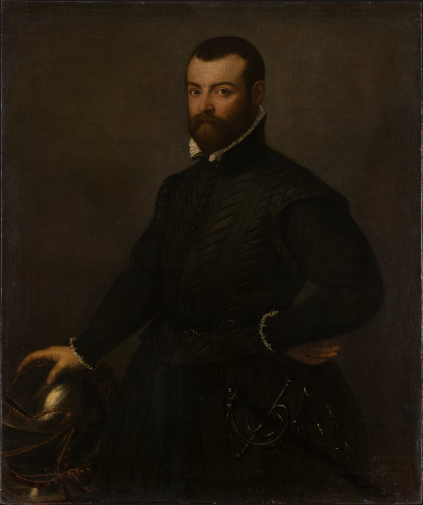 Bildnis des Francesco Titio, Art des Giovanni Battista Moroni
