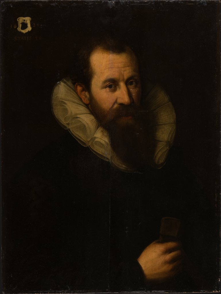 Portrait of a Man aged 46, German Master of 1621