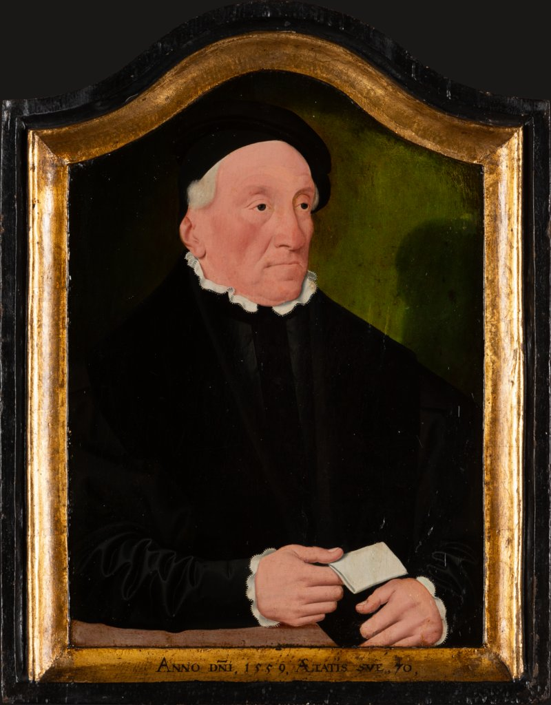 Portrait of Mayor Nakademus, Bartholomäus Bruyn the Younger