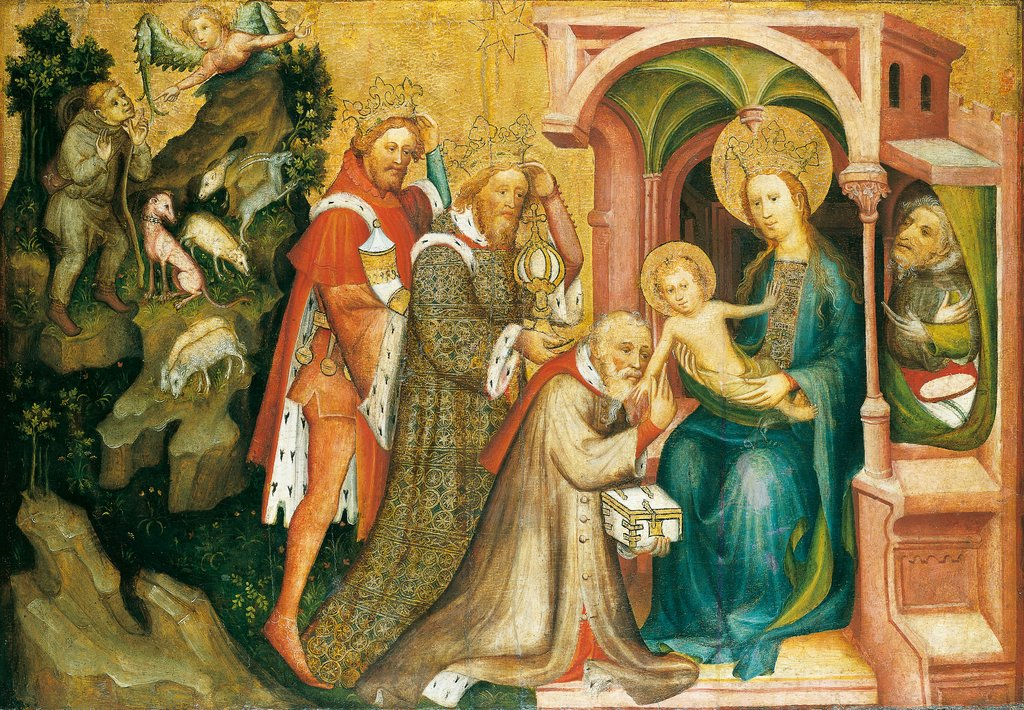 The Adoration of the Magi, Master of the Middle Rhine ca. 1400