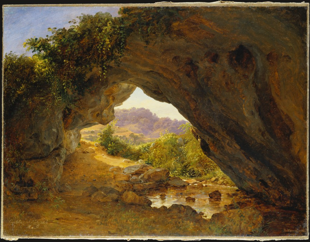 Felsenbogen bei Civitella II, Carl Morgenstern
