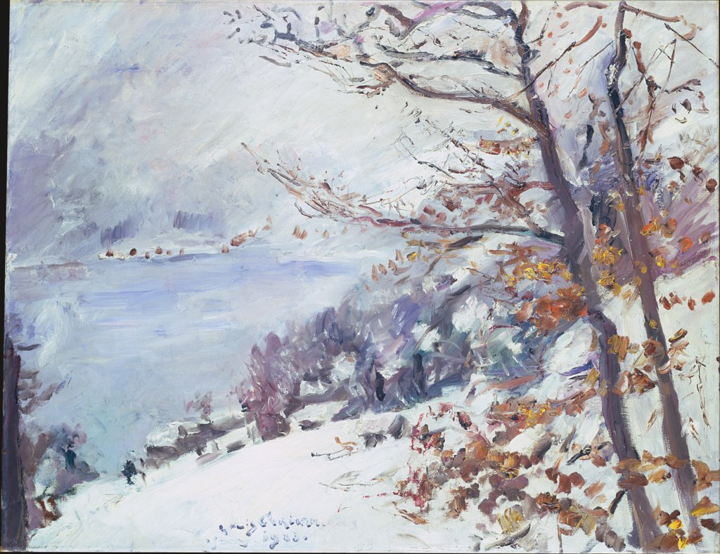 Walchensee im Winter, Lovis Corinth