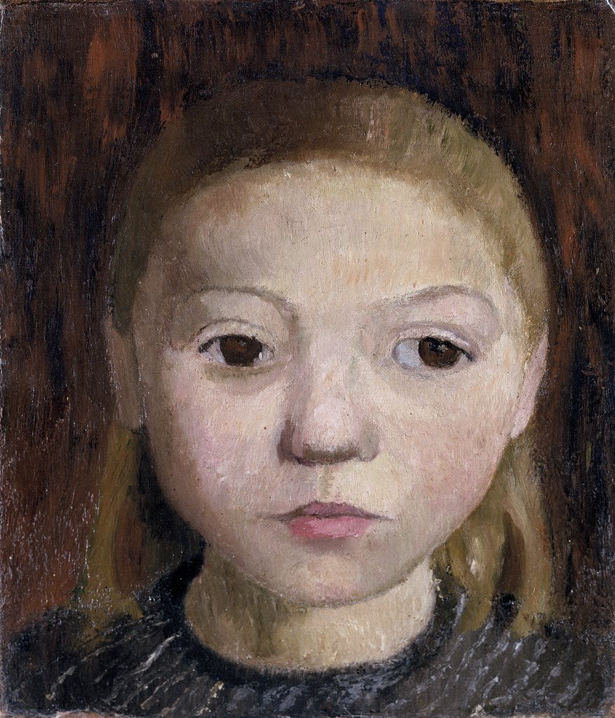 Head of a Girl, Paula Modersohn-Becker