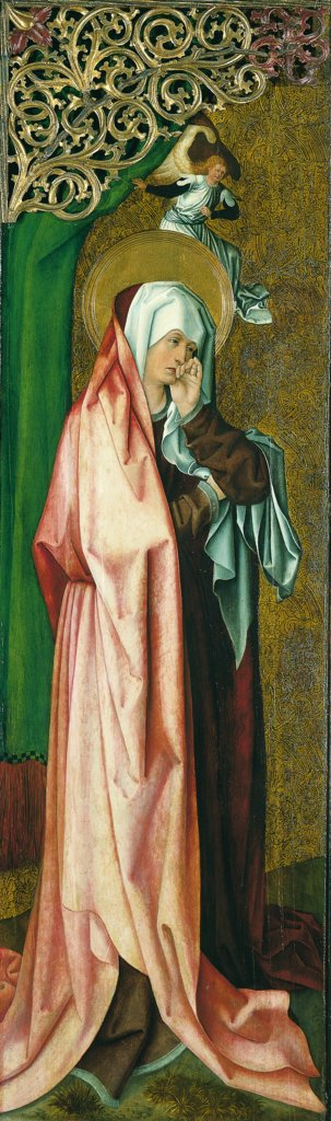 The Virgin Mary Mourning, Master of the Stalburg Portraits