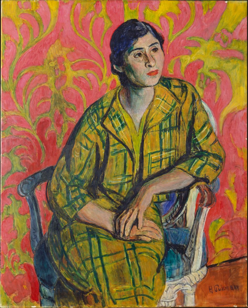 Portrait of an Indian Woman, Hans Purrmann