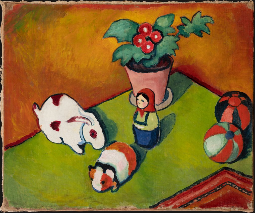 Little Walter's Toys, August Macke