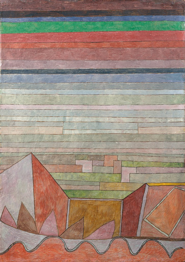 View into the Fertile Country, Paul Klee