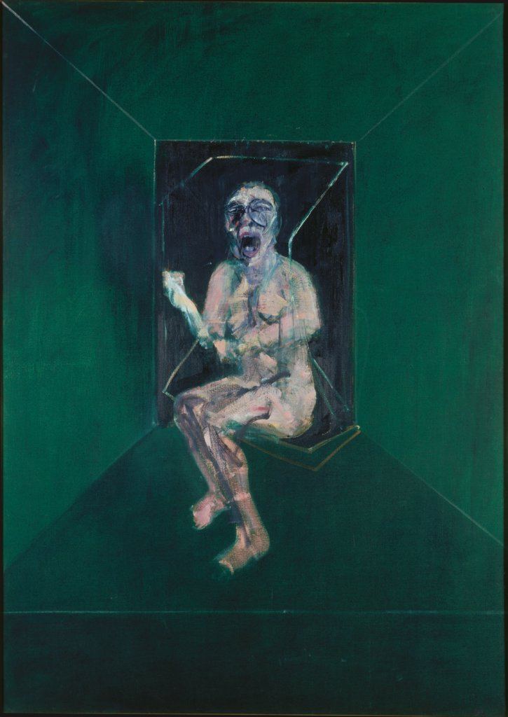 "Study for the Nurse in the Film ""Battleship Potemkin"" by Eisenstein, Francis Bacon"