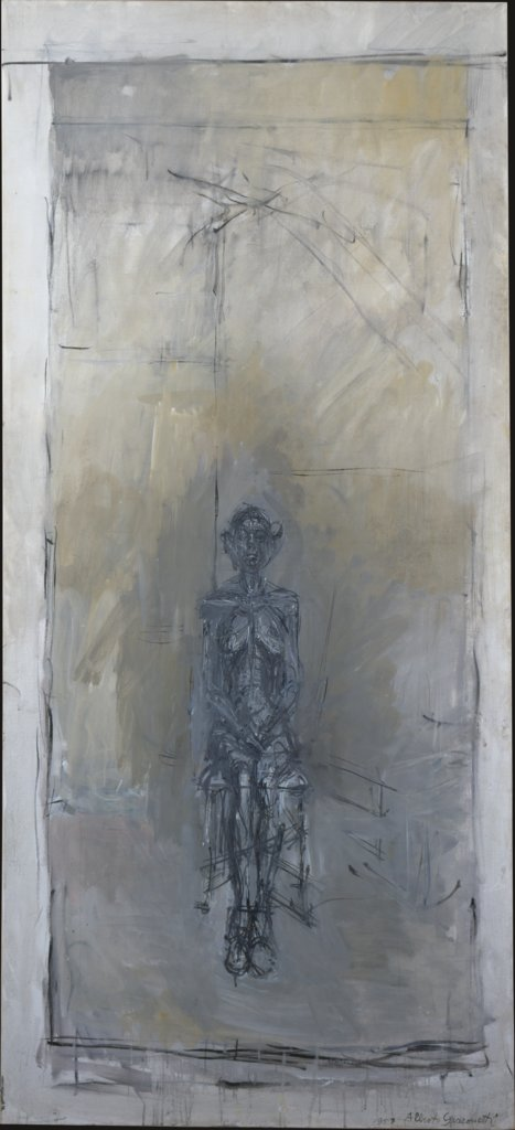 Grand nu assis, Alberto Giacometti