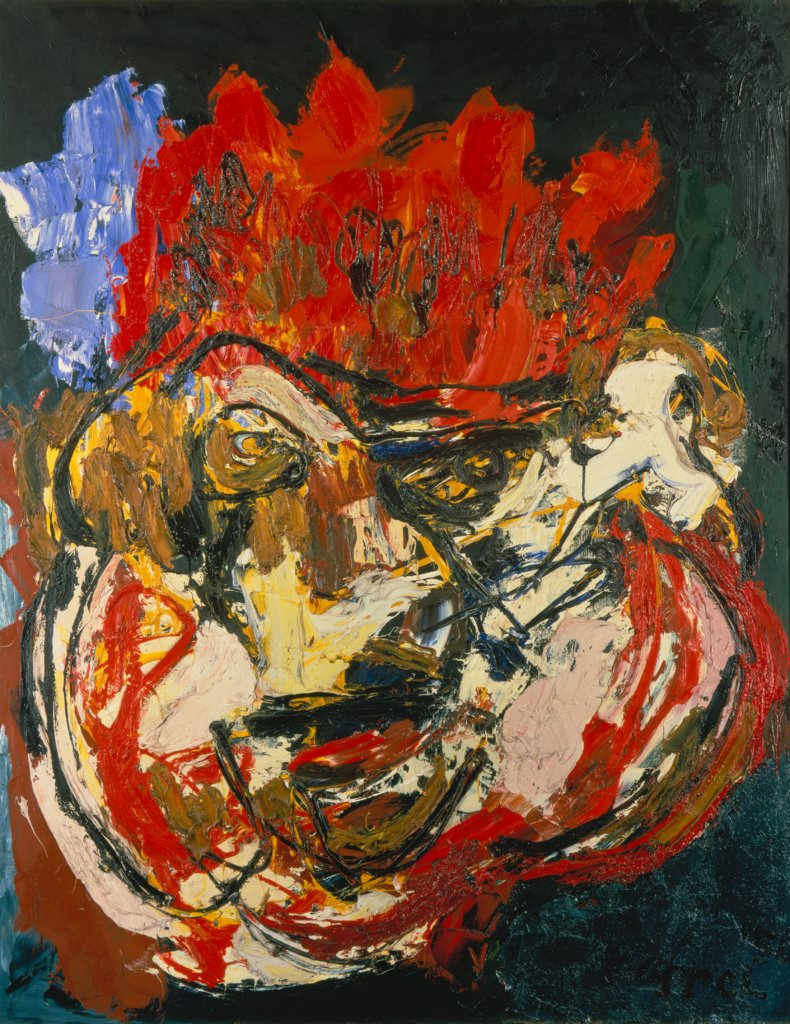 Portrait of Emmanuel Looten, Karel Appel