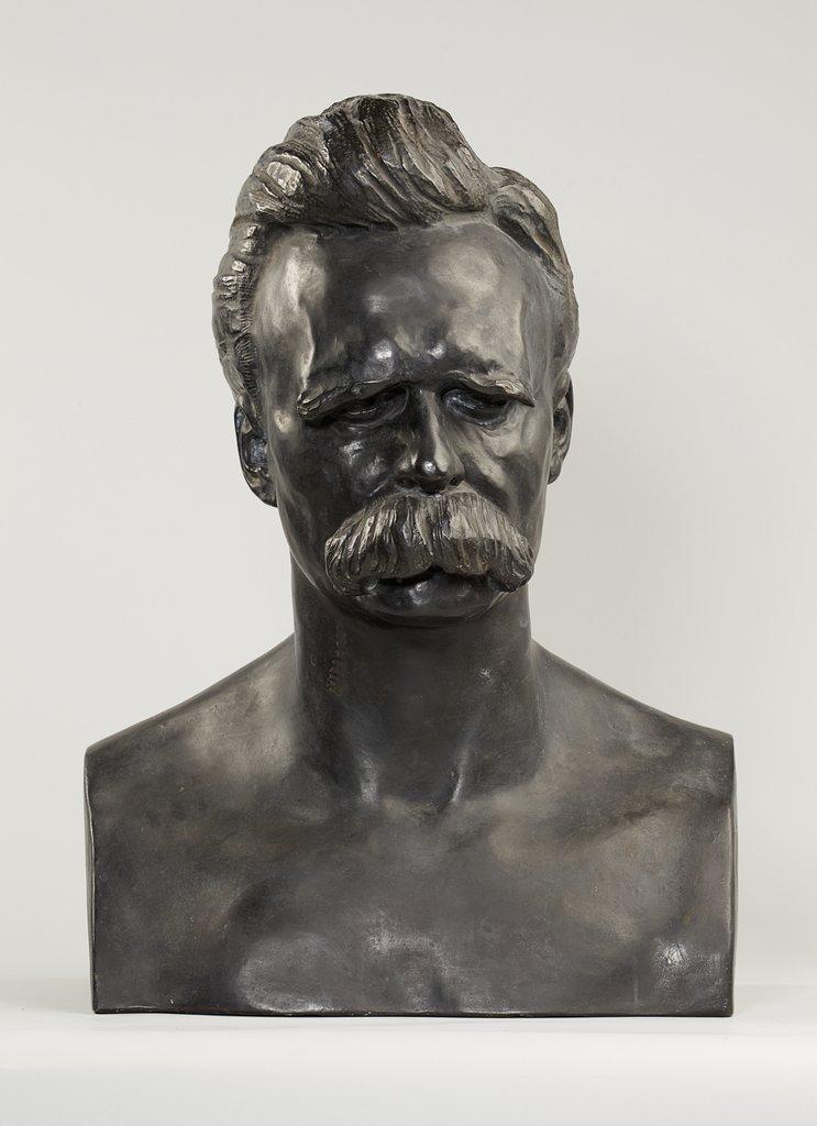Portrait Bust of Friedrich Nietzsche - Digital Collection