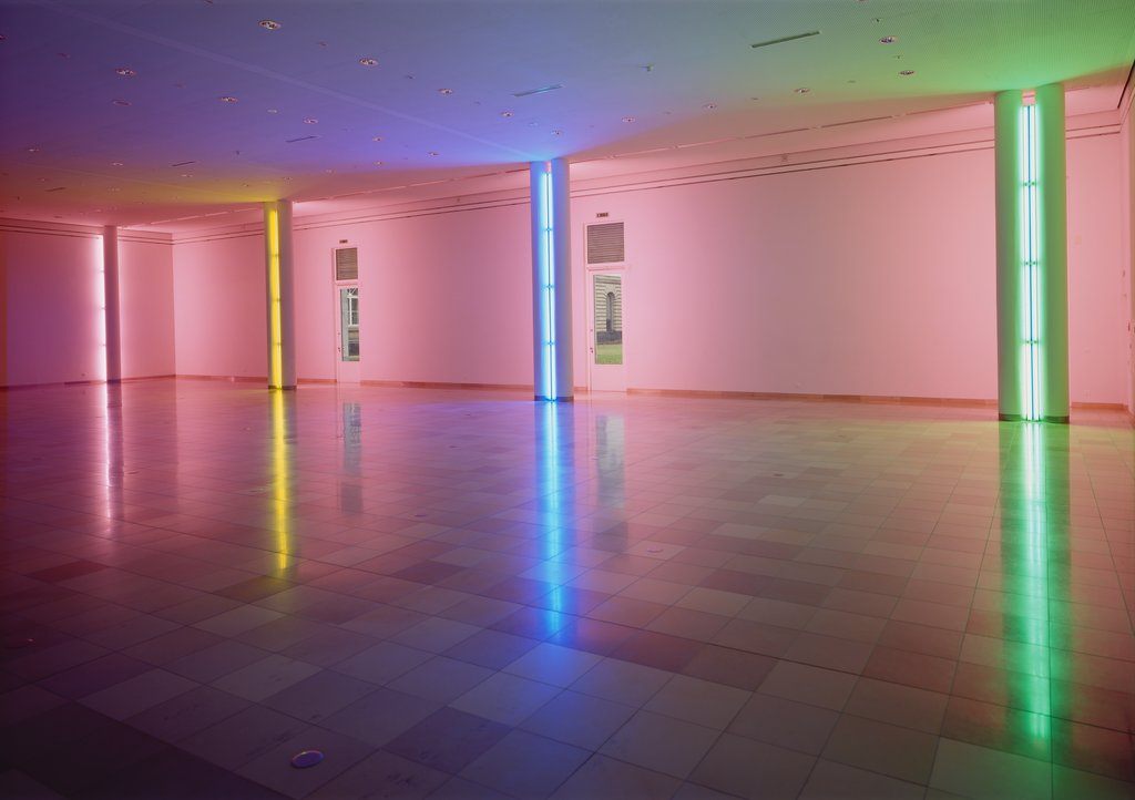 Untitled (for Professor Klaus Gallwitz), Dan Flavin