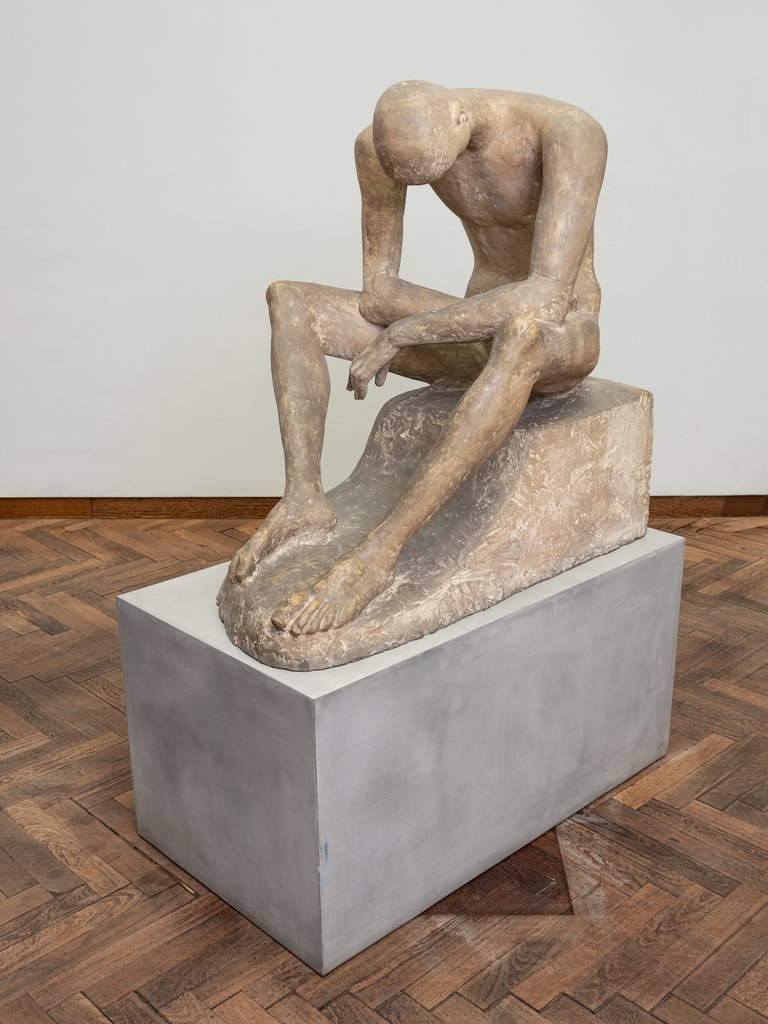 Seated Youth, Wilhelm Lehmbruck
