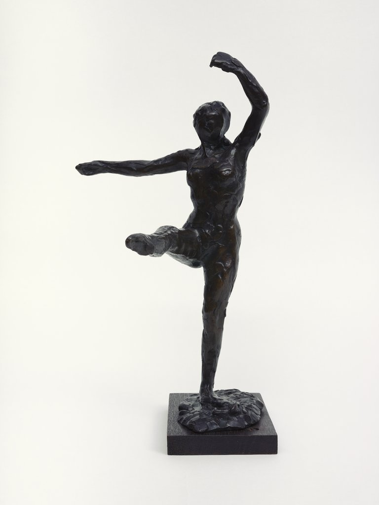 Dancer, Fourth Position Front, on the Left Leg, Edgar Degas