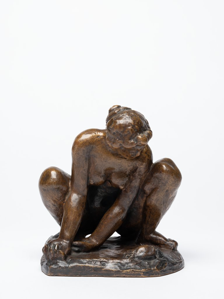 Woman with crab, Aristide Maillol