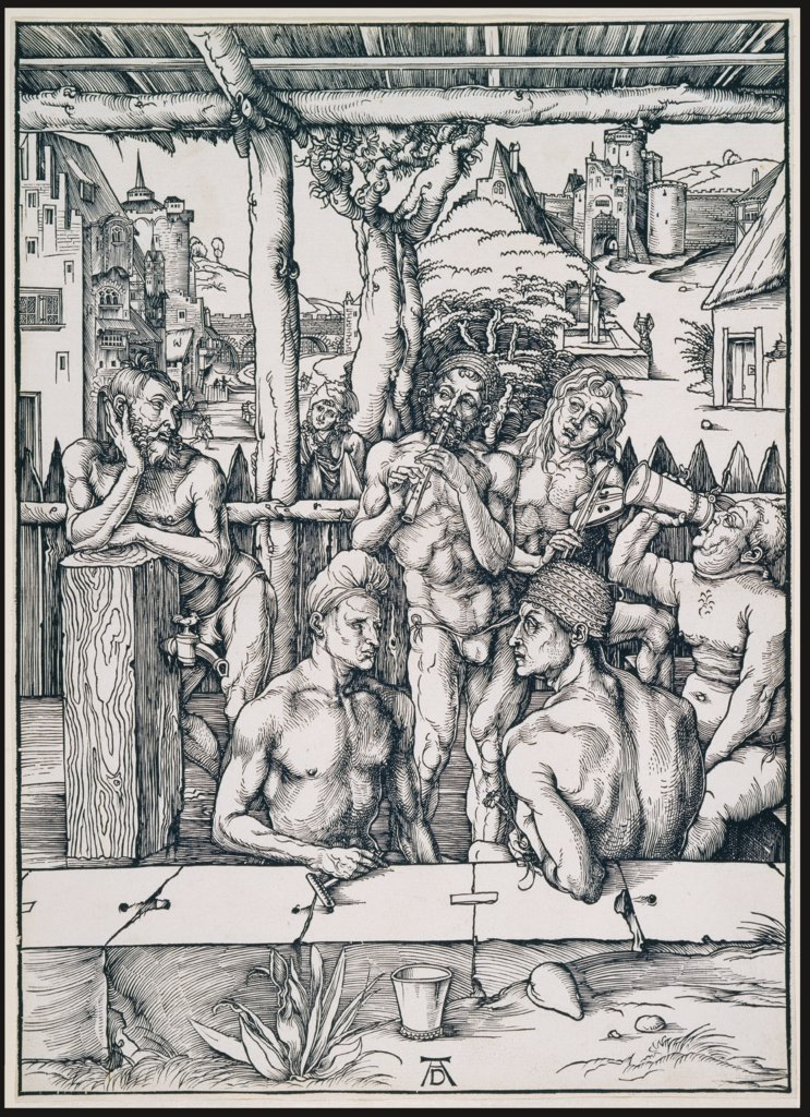 The Bath House, Albrecht Dürer