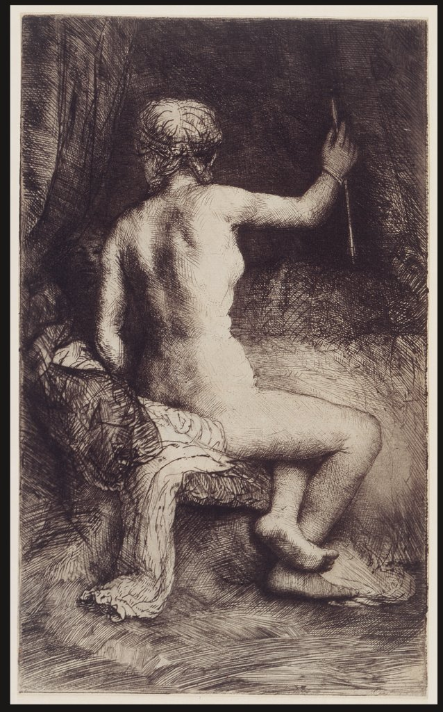 Woman with the Arrow, Rembrandt Harmensz. van Rijn