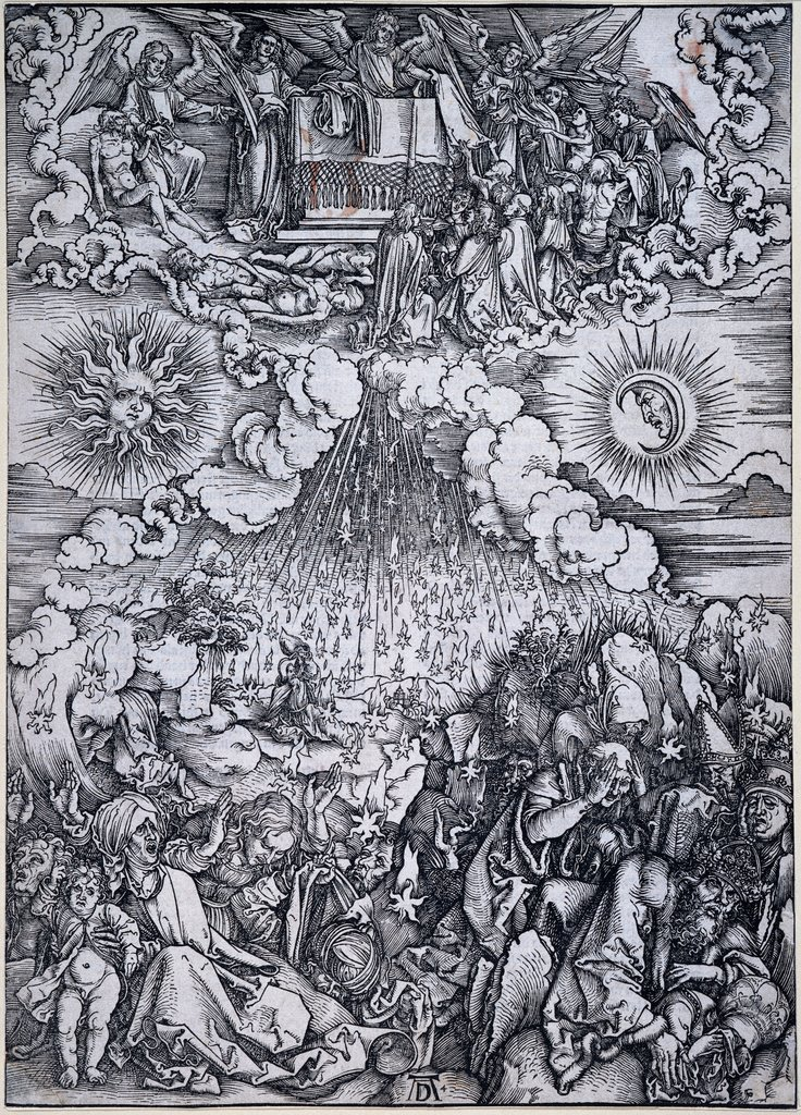 The Opening of the Fifth and Sixth Seals, Albrecht Dürer