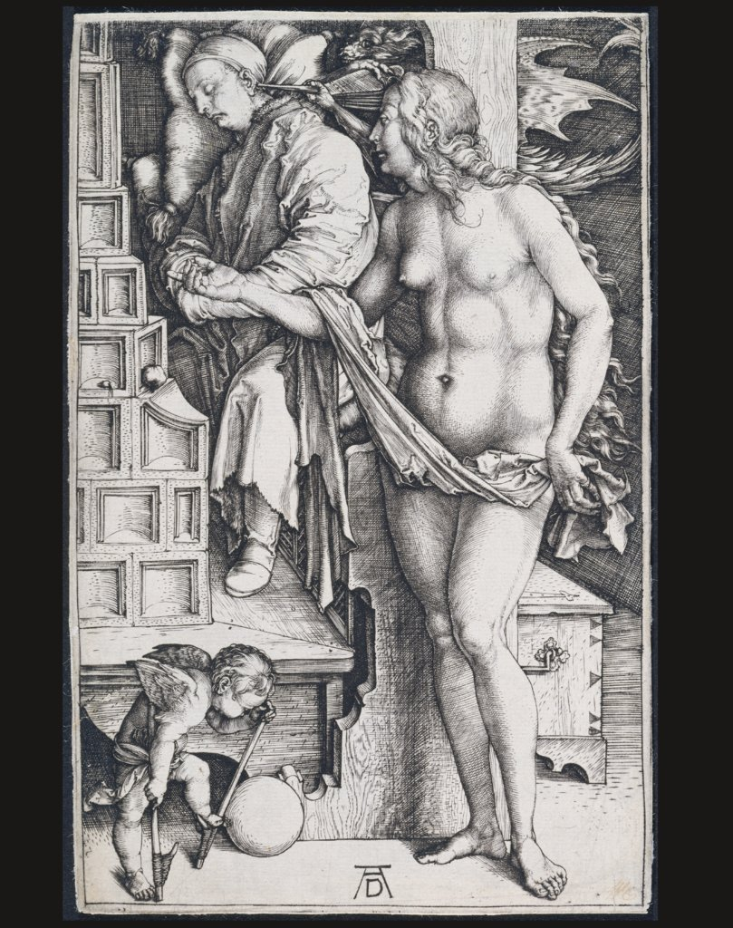 The Temptation of the Idler (The Dream of the Doctor), Albrecht Dürer
