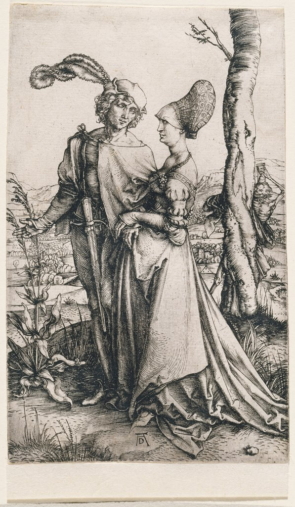 Young Couple Threatened by Death, Albrecht Dürer