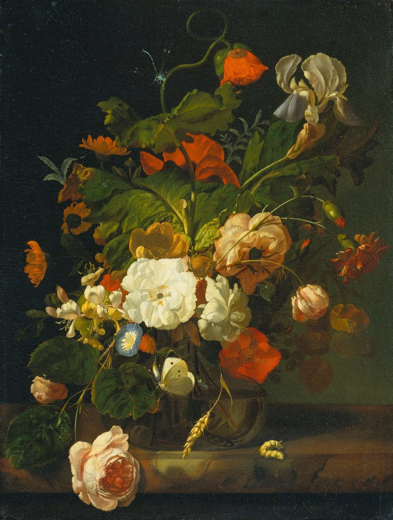 Still Life with Bouquet of Flowers, Rachel Ruysch