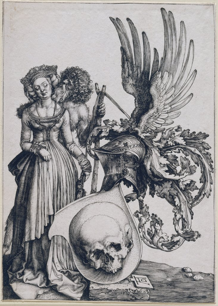 Coat-of-Arms of Death, Albrecht Dürer