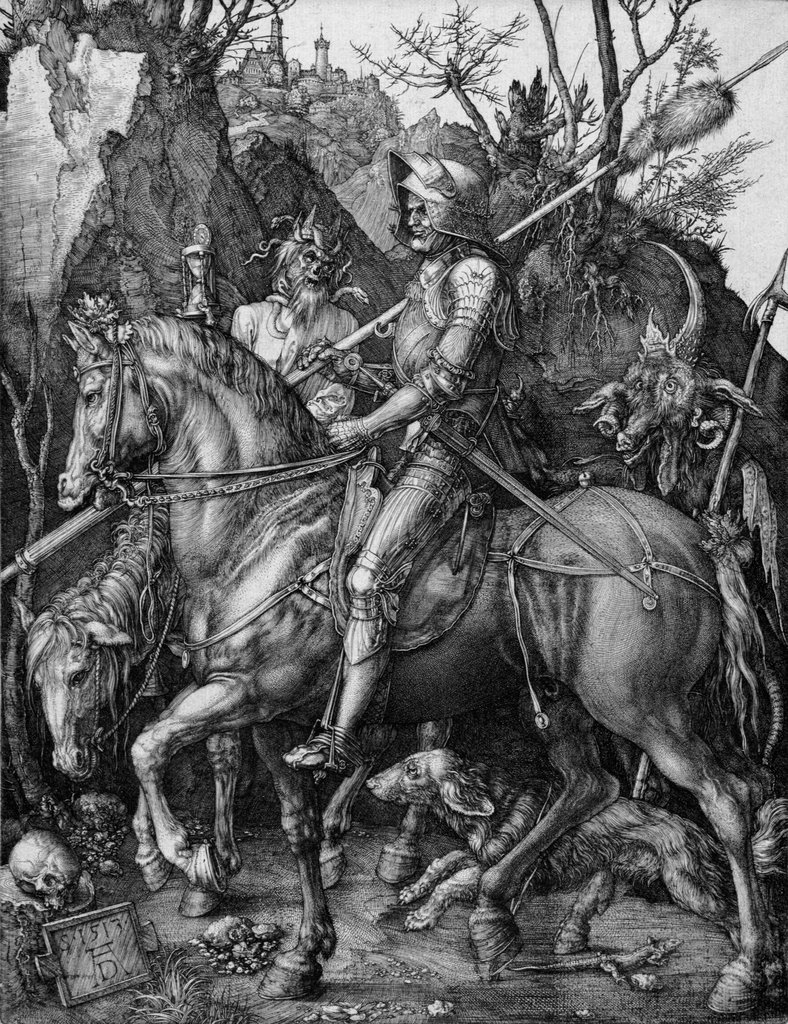Knight, Death, and the Devil, Albrecht Dürer