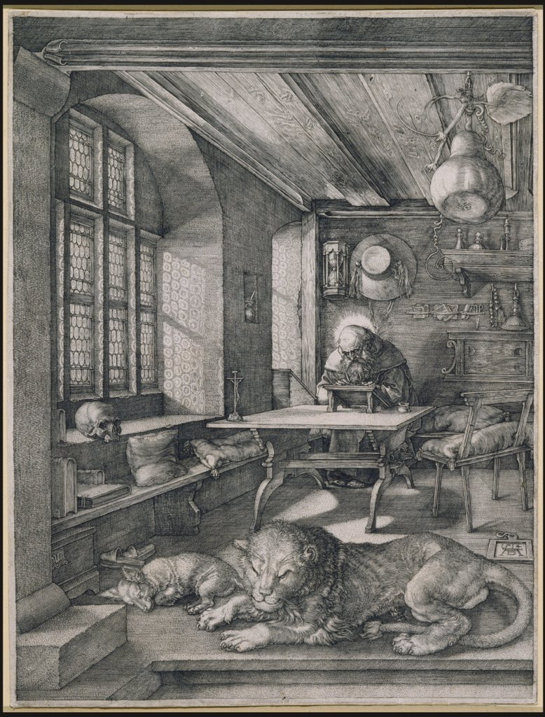 Saint Jerome in his Study, Albrecht Dürer