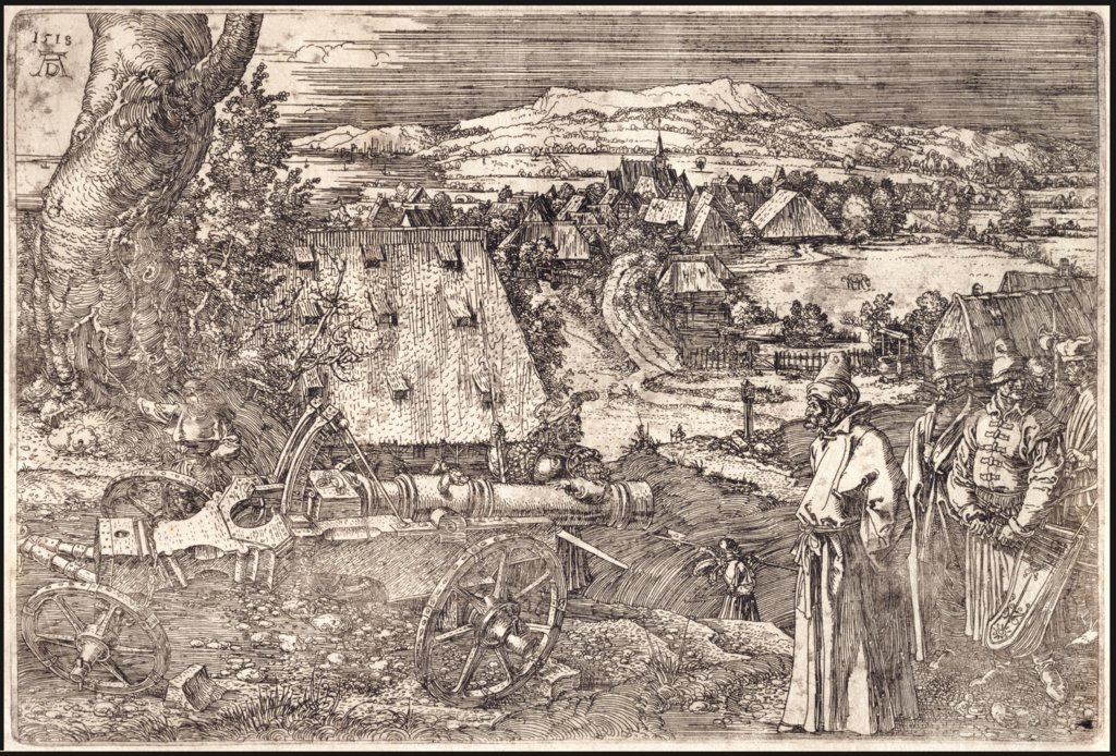 The Landscape with the Cannon, Albrecht Dürer