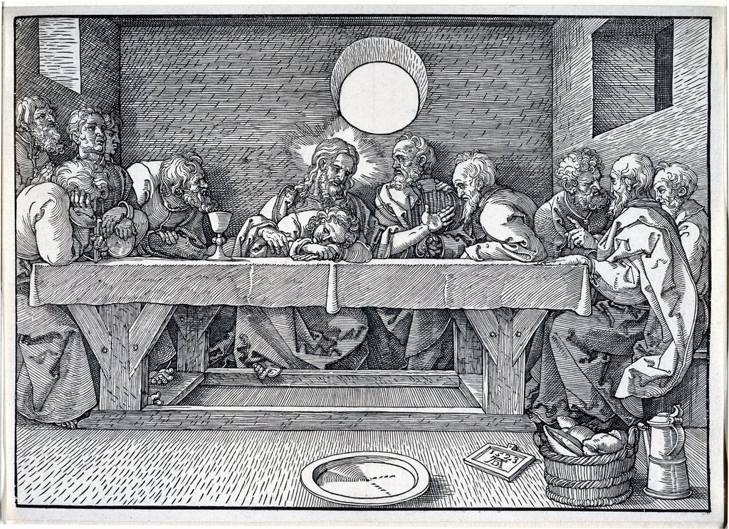 The Last Supper, Albrecht Dürer