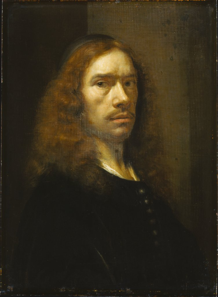 Half-Length Portrait of a Middle-Aged Man, Art des Johann Heinrich Roos