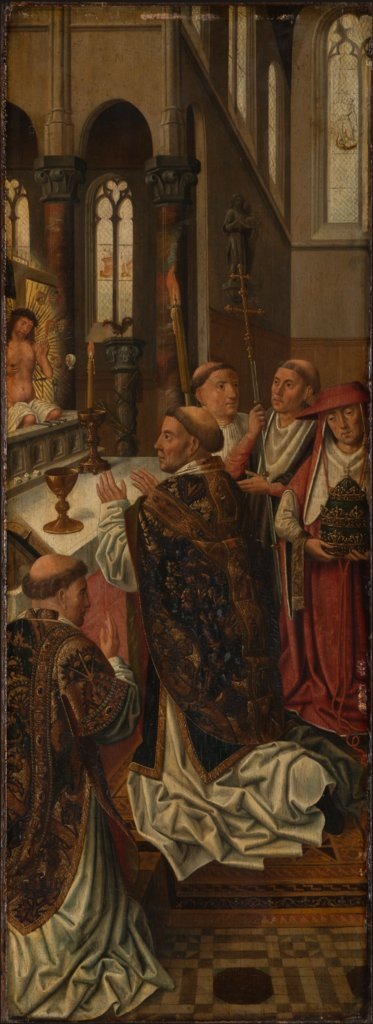 The Mass of St Gregory, Master of the Morrison Triptych